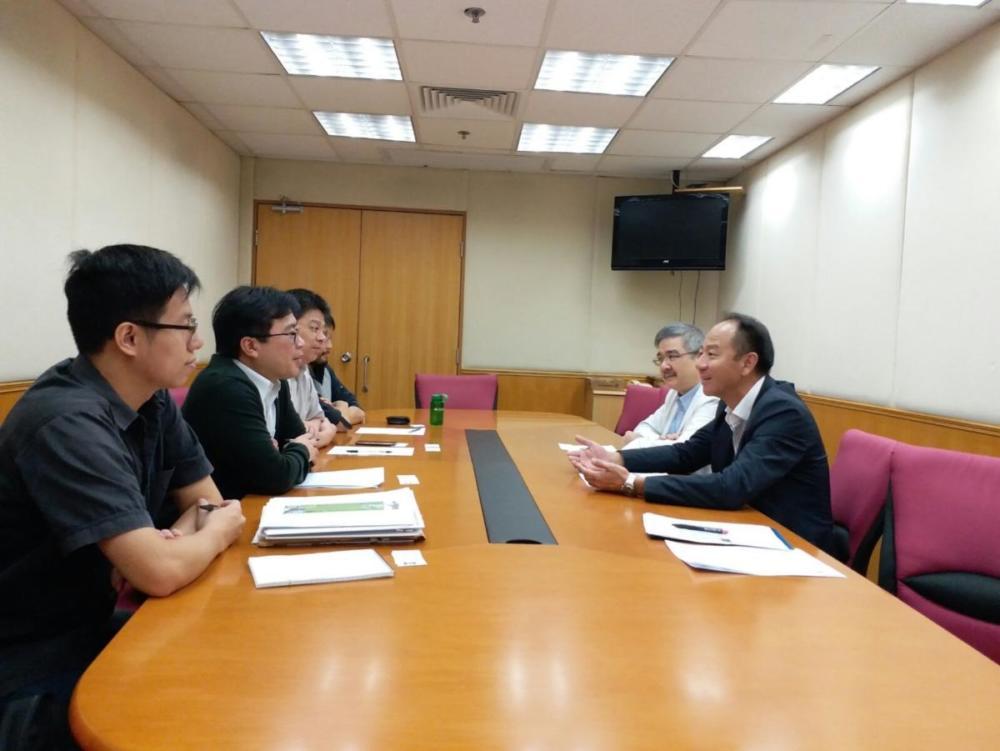 與勞工處開會商討合辦建造業安全研討會事宜